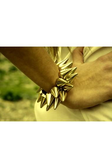 PULSERA GOLD STUDDED XL